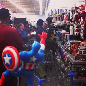CAP IS NOT LEAVING HERE WITHOUT A TELEVISION.