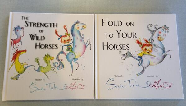Sandra Tayler's HORSES series