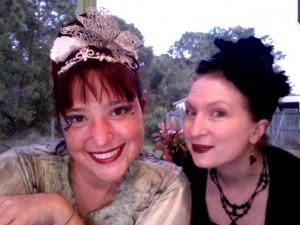Alethea & Leanna at the Oasis