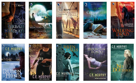 Books by CE Murphy
