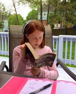 Allie Reading Enchanted