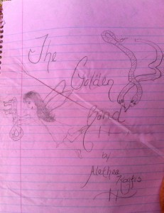 The Golden Band Cover Illustration by Casey Cothran, circa 1988