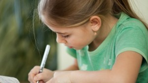 girl-writing-fourth-grade